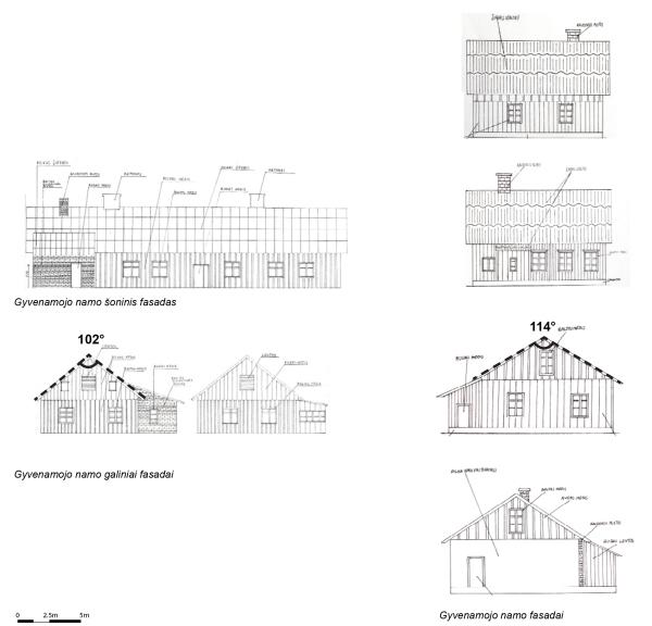 Sodybų nr. 3 ir nr. 4 pastatai